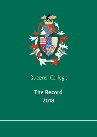 24e39b8530e9 The Record 2018 by Queens  College - issuu