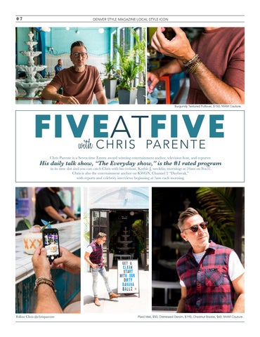 Page 10 of Five at Five with Chris Parente