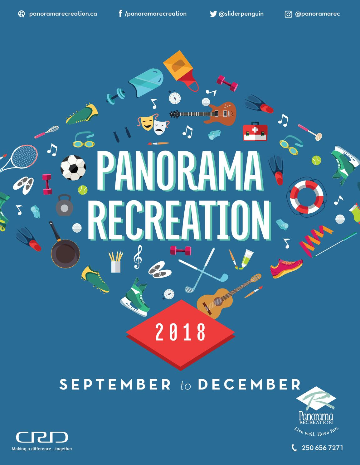 e9d15c708e Panorama Recreation Fall 2018 Active Living Brochure by Panorama Recreation  - issuu