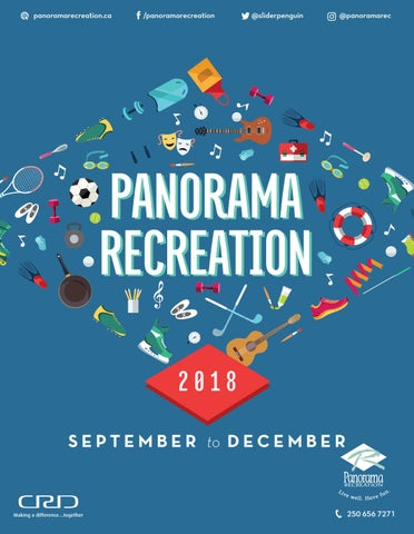 Panorama Recreation Fall 2018 Active Living Brochure by Panorama