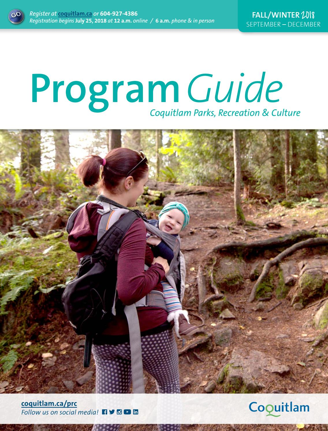 7d30883f193b8 Fall/Winter 2018 Program Guide by City of Coquitlam - issuu