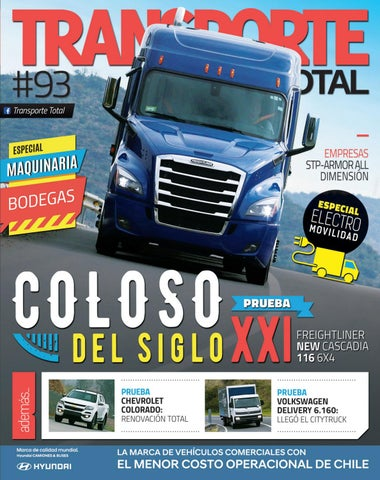Revista Transporte Total N 93 Septiembre 2018 By Rs Chile Issuu