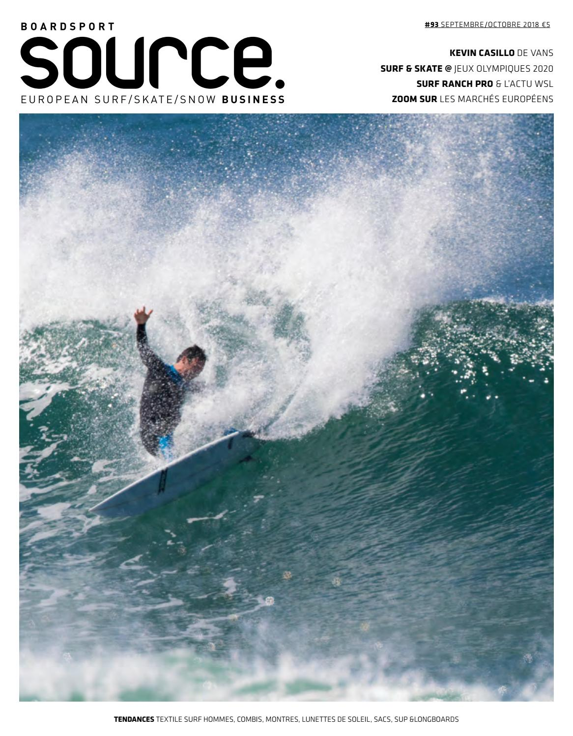 BoardSport Source, Issue 93, September October 2018 French