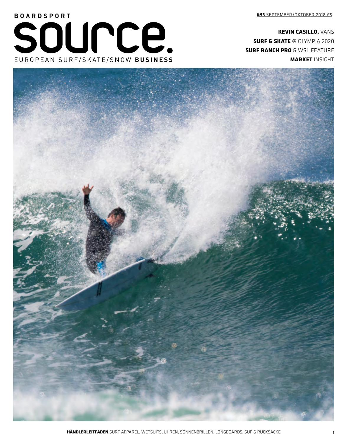 Boardsport Source Issue 93 September October 2018 German