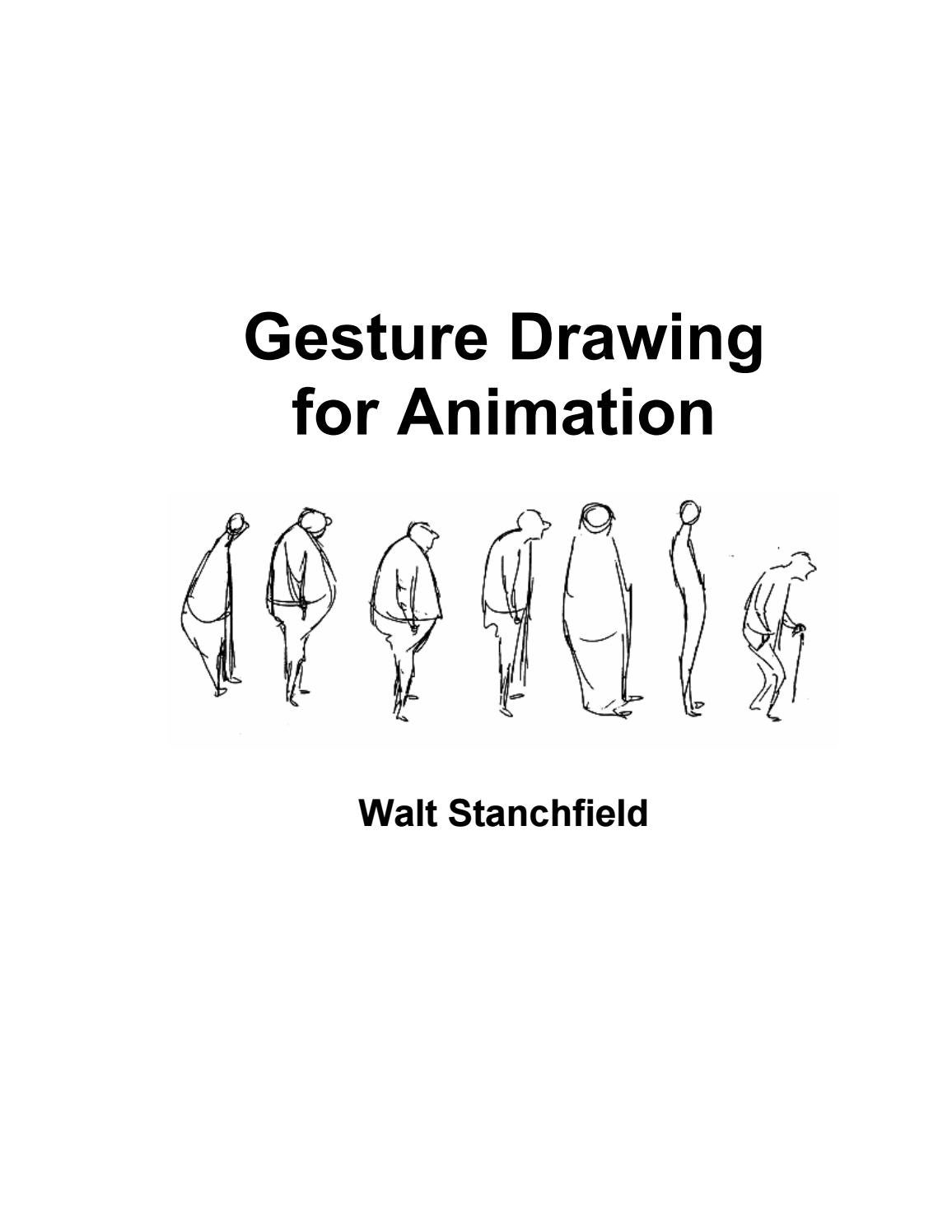Gesture Drawing for Animation (Walt Stanchfield) by