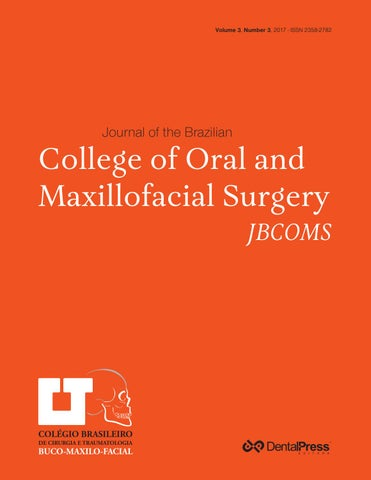 c23a681775bd91 JBCOMS - JOURNAL OF THE BRAZILIAN COLLEGE OF ORAL AND MAXILLOFACIAL ...