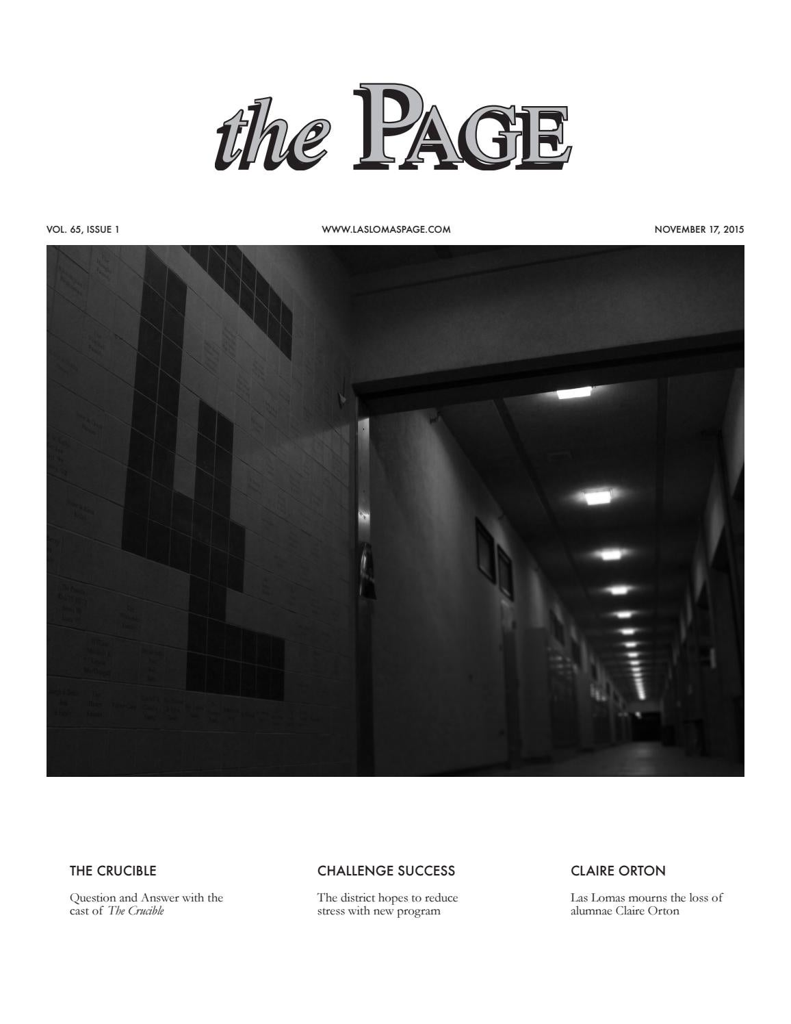 Volume 65 Issue 1 By Las Lomas Page Issuu