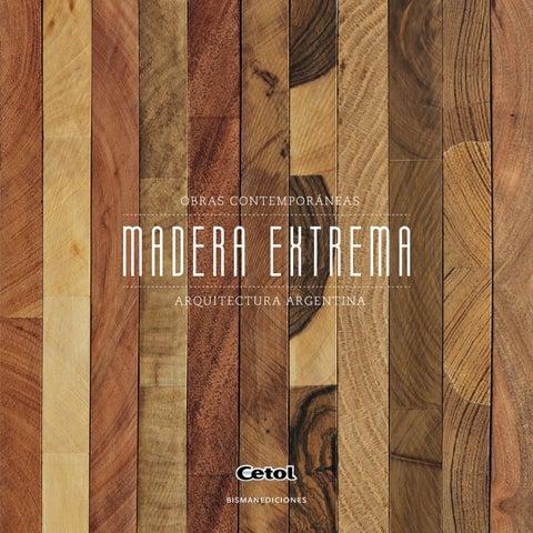 Madera Extrema by Biblioteca Cetol - issuu 9d44c59e61ca