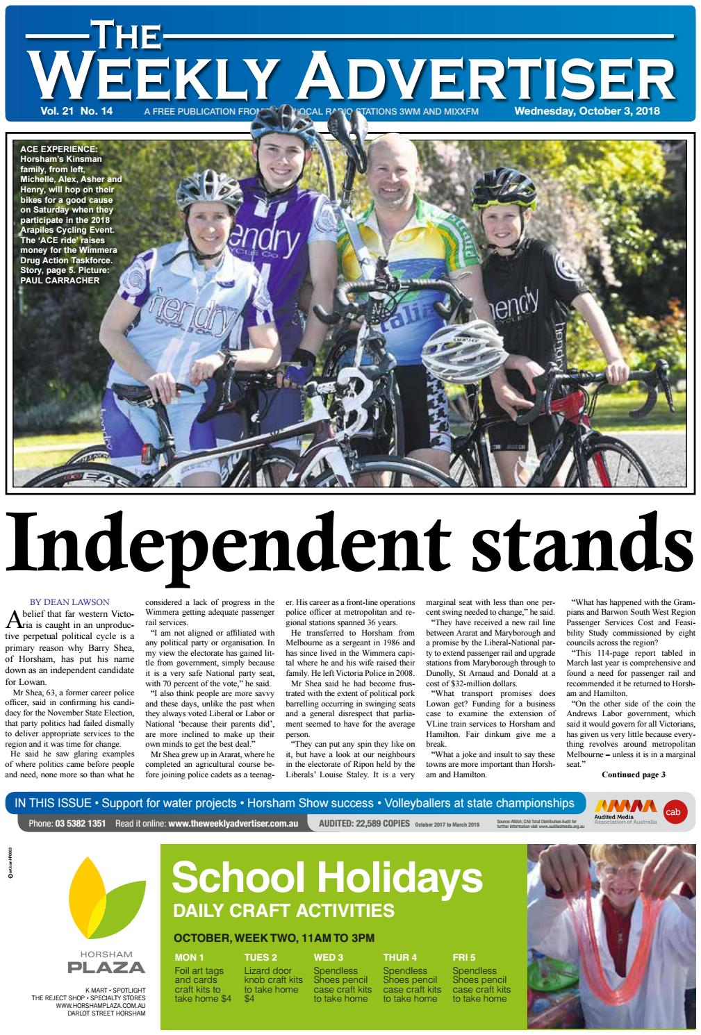 2cd5671d1f1a The Weekly Advertiser - Wednesday
