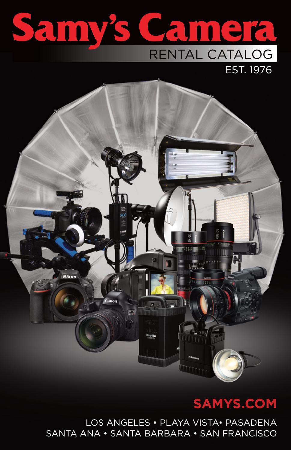 Samys Camera Rental Catalog By Issuu Suoer 2 In 1 Inverter Charger 500 Watt Typer Saa 500w C