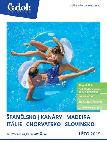 Čedok  Léto 2019 - Španělsko a05c2da0bb