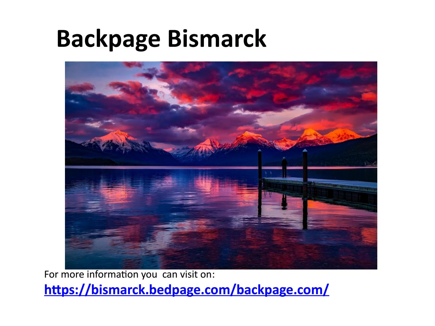 Backpage Bismarck Alternative To Back Page By Maary Sem Issuu