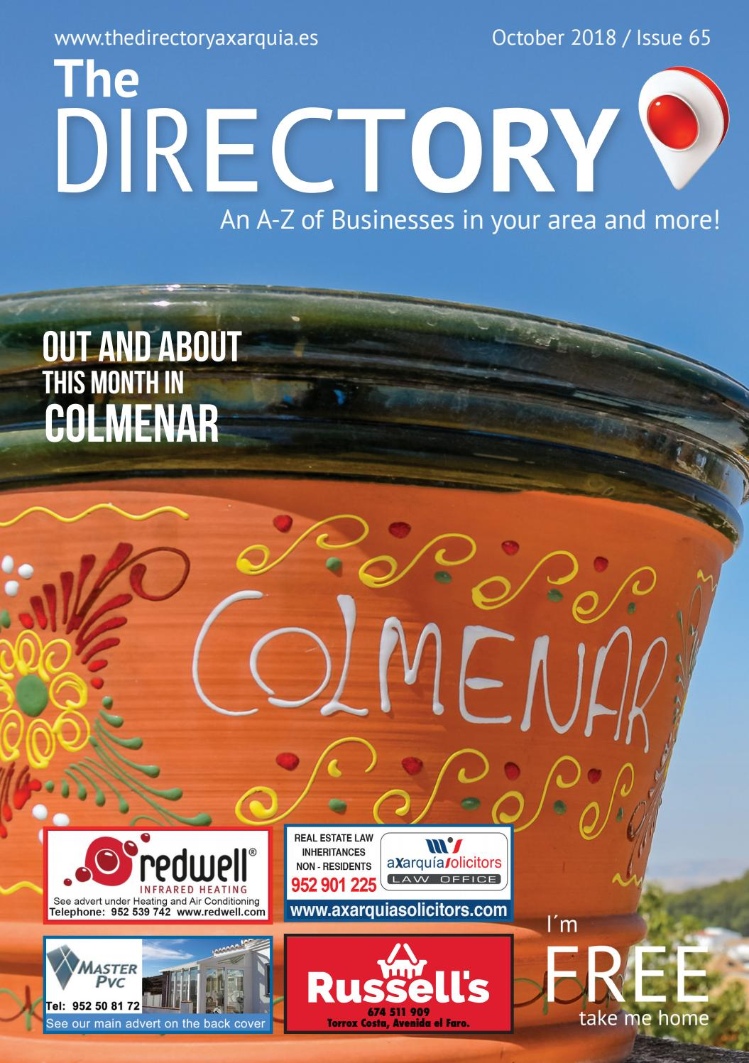 The Directory Magazine October 2018 Issue 65 By The