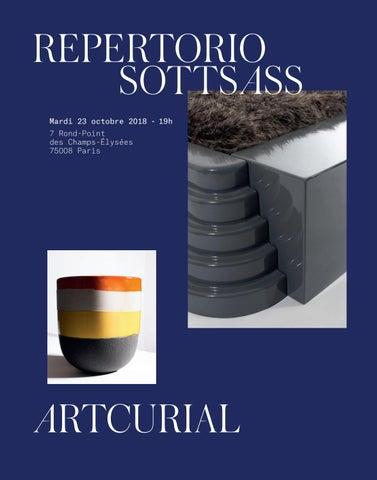 e8508b50821b Repertorio Sottsass by Artcurial - issuu