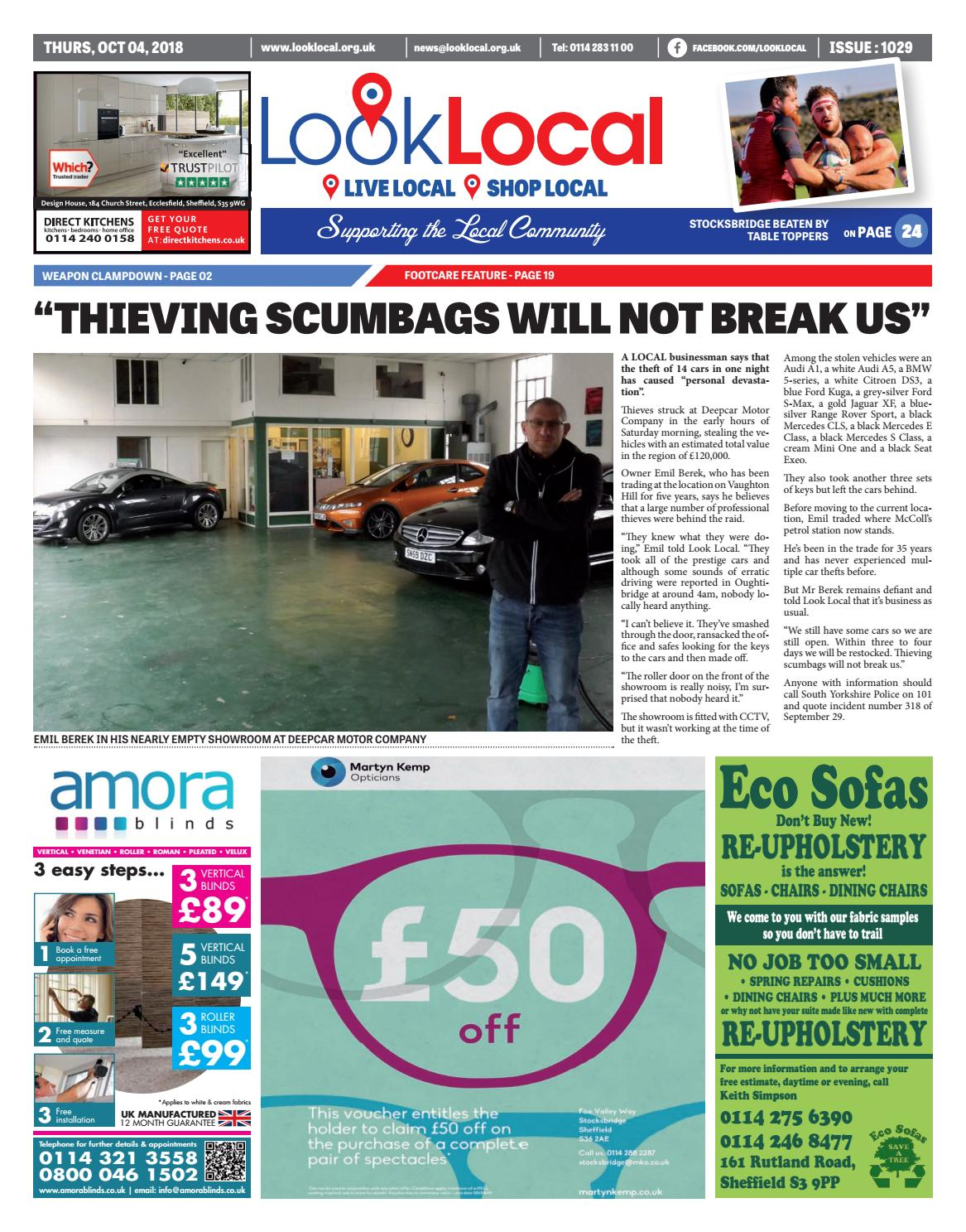 0a23e4111a Issue 1029 Thursday 4 October 2018 by Look Local Newspaper - issuu