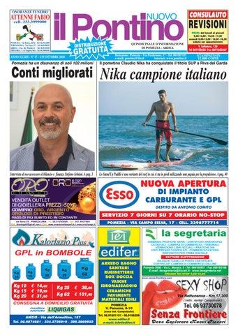 9d8ea04ea3 Il Pontino Nuovo - Anno XXXIII - N. 17 - 1/15 Ottobre 2018 by Il ...