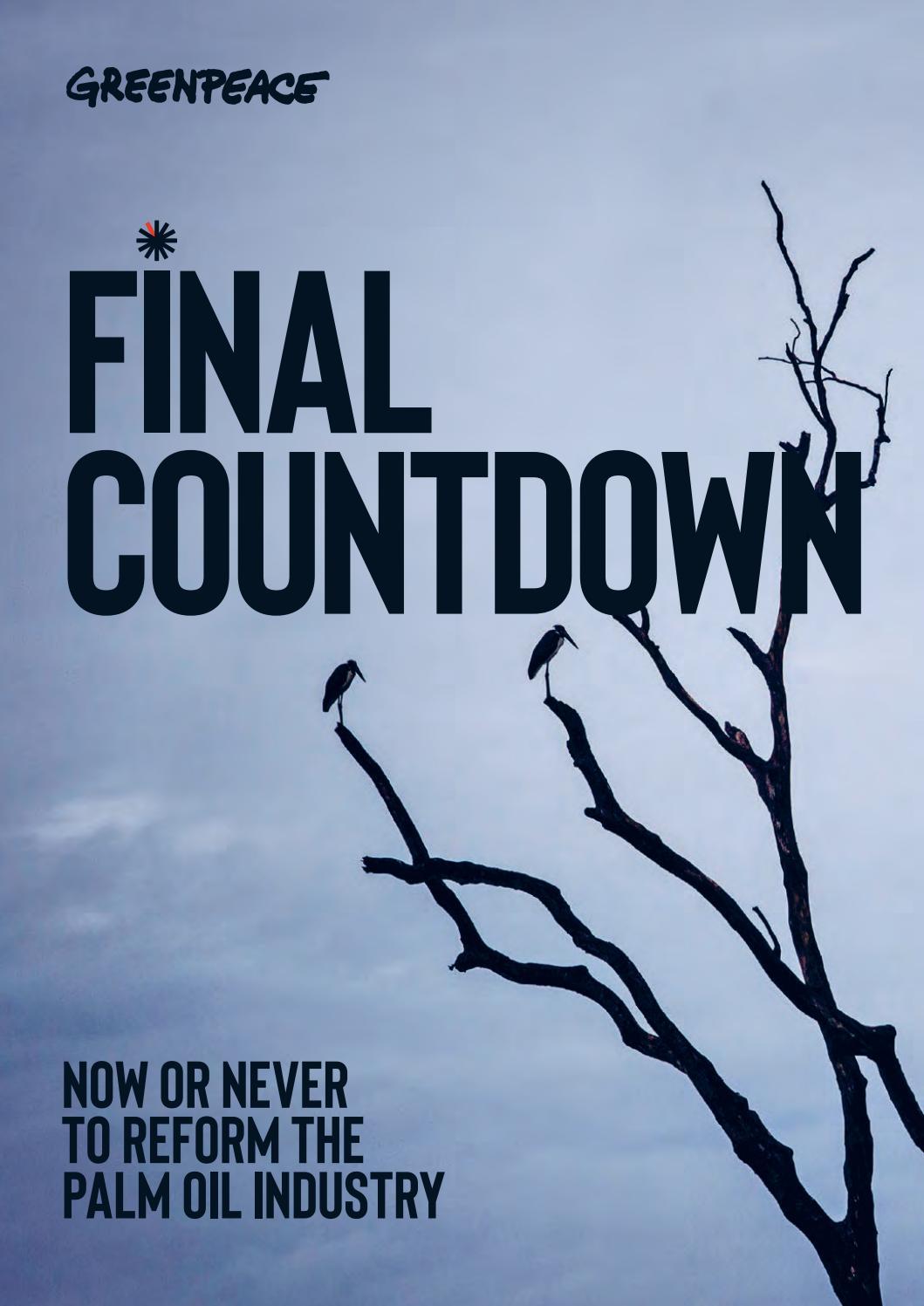Final Countdown by Greenpeace International - issuu