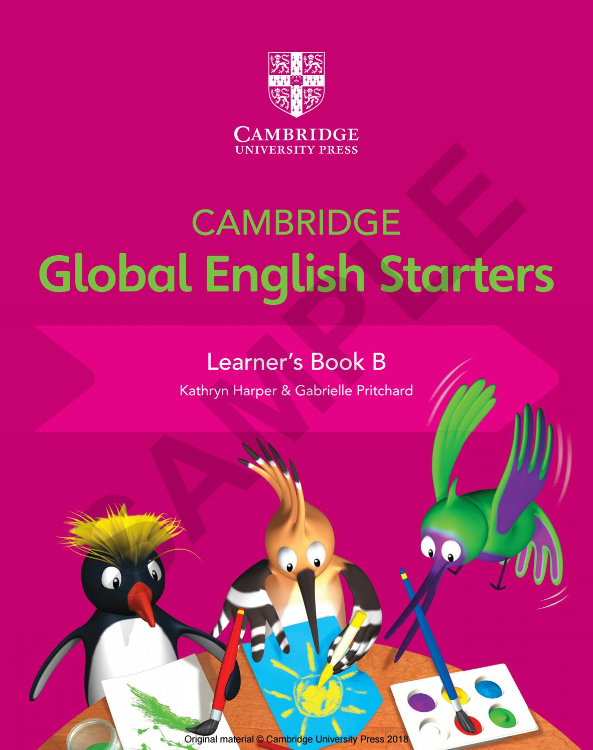 Global English Starters Learner\'s Book B Sample by Cambridge ...