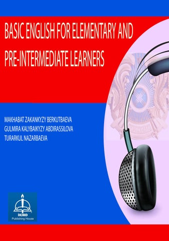 BASIC ENGLISH FOR ELEMENTARY AND PRE-INTERMEDIATE LEARNERS by ... 747066ccf93