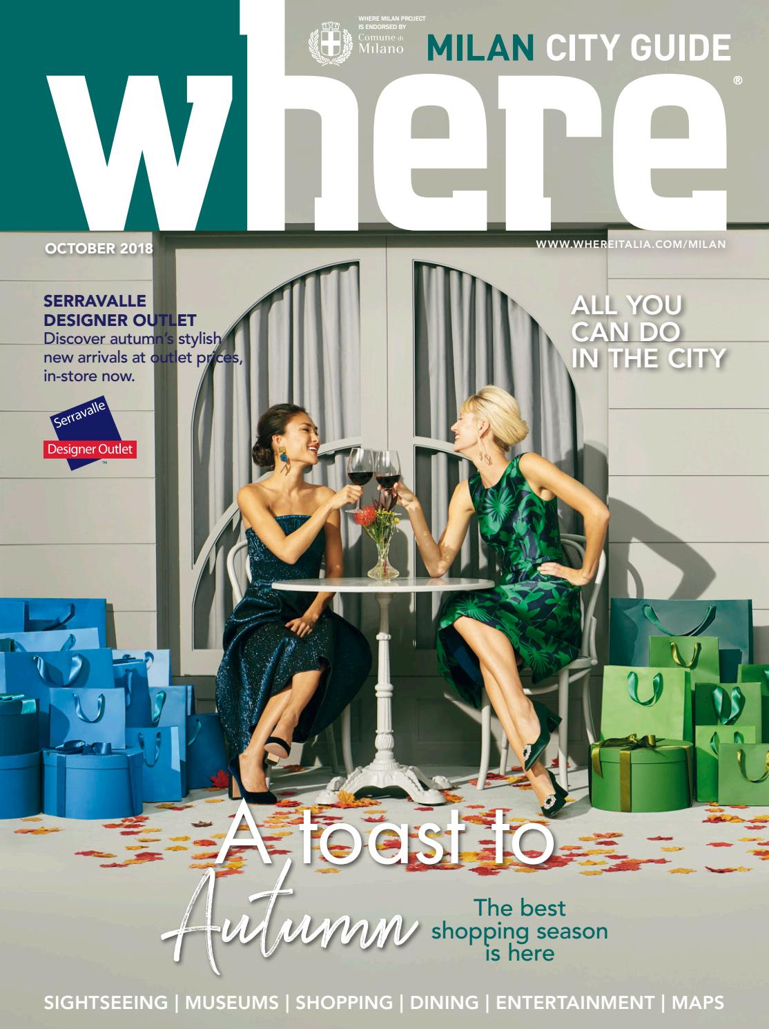 Where Milan n 96 October 2018 by Where Italia - issuu