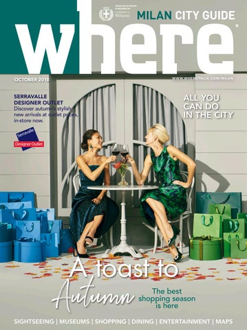 Where Milan n 96 October 2018 by Where Italia - issuu 36f88f6fe17