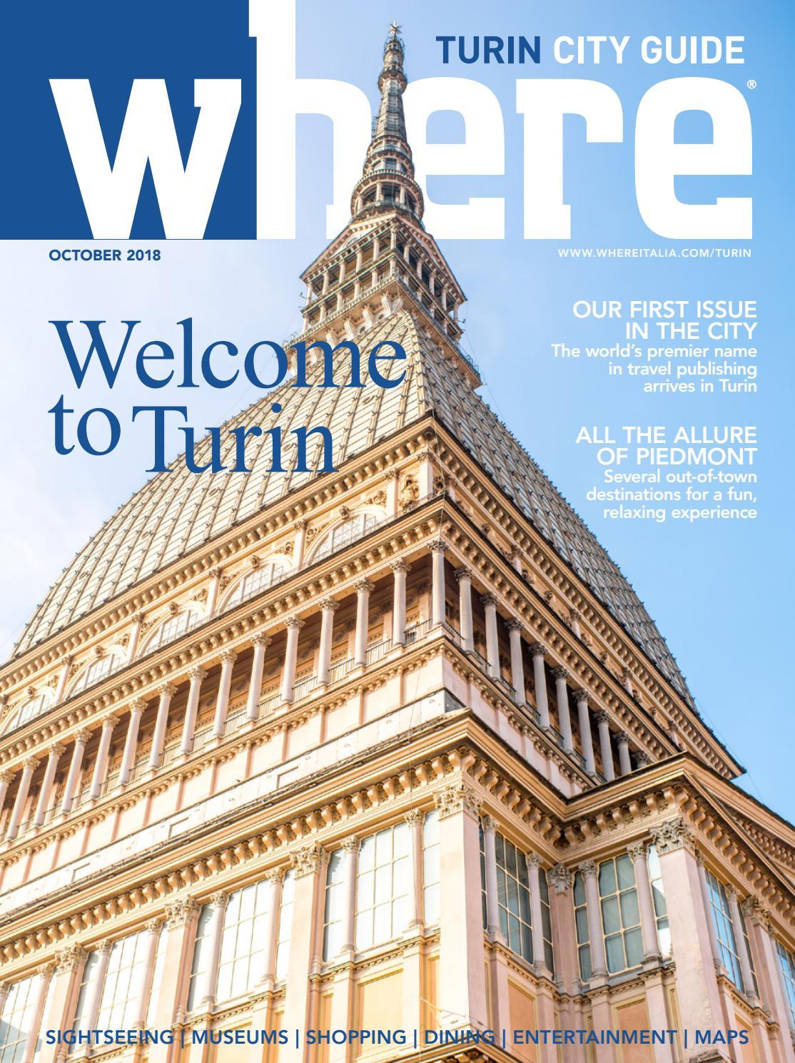 f5a8d0f3702b Where Turin n 1 October 2018 by Where Italia - issuu