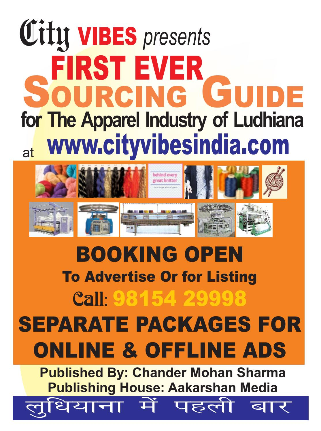 Ludhiana Textile Directory Part Ii By City Vibes Issuu