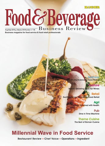 Food Beverage Business Review Aug Sep 2018 By Food Beverage