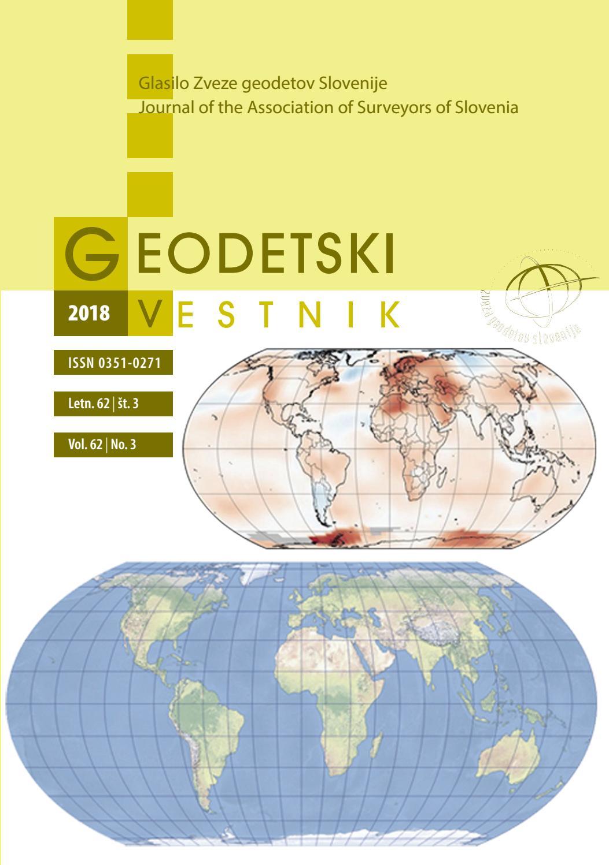 Geodetski Vestnik 2018 3 By Mojca Foski Issuu