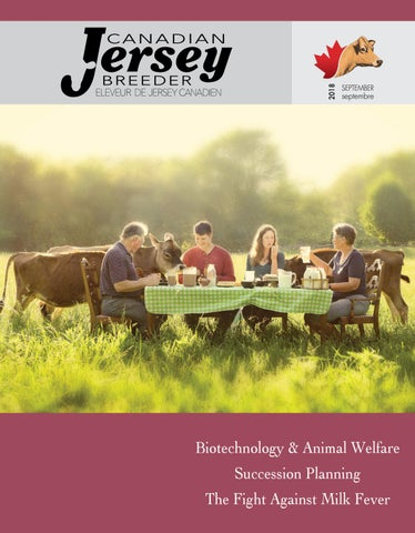 2018 Canadian Jersey Breeder September By Canadian Jersey