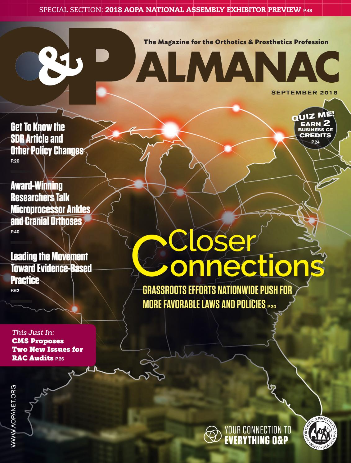 September 2018 O&P Almanac by AOPA - issuu