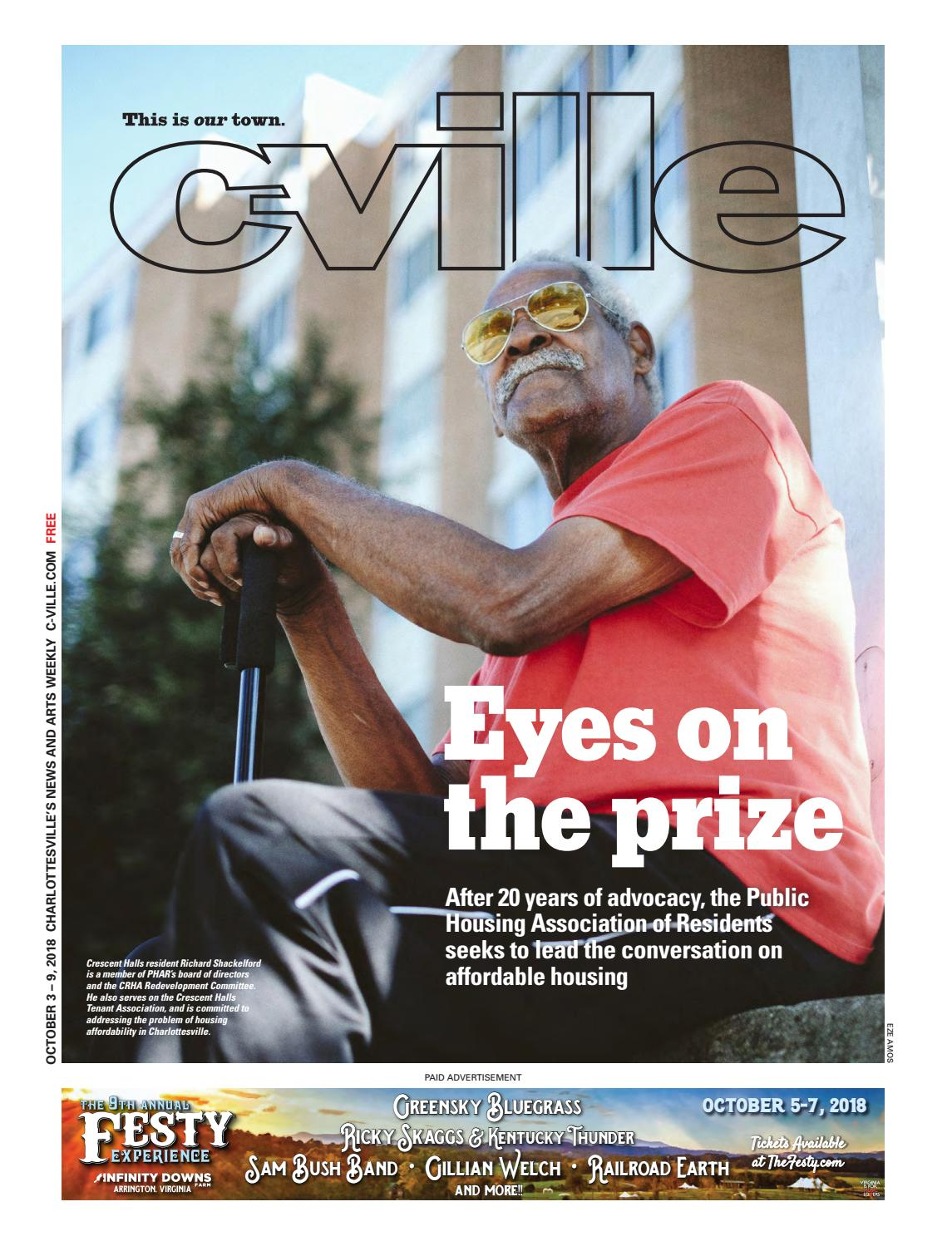 October 3, 2018: Eyes on the prize by C-VILLE Weekly - issuu