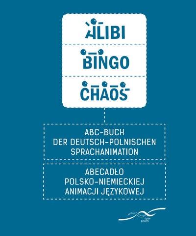 Alibi Bingo Chaos Abc Der Deutsch Polnischen