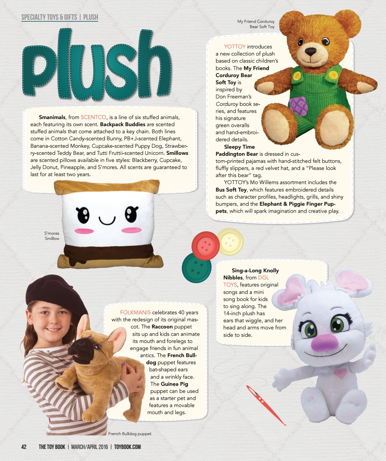 Smores Stuffed Animal, March April 2016 By The Toy Book Issuu