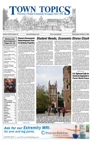 Town Topics Newspaper October 3 2018 By Witherspoon Media Group Issuu