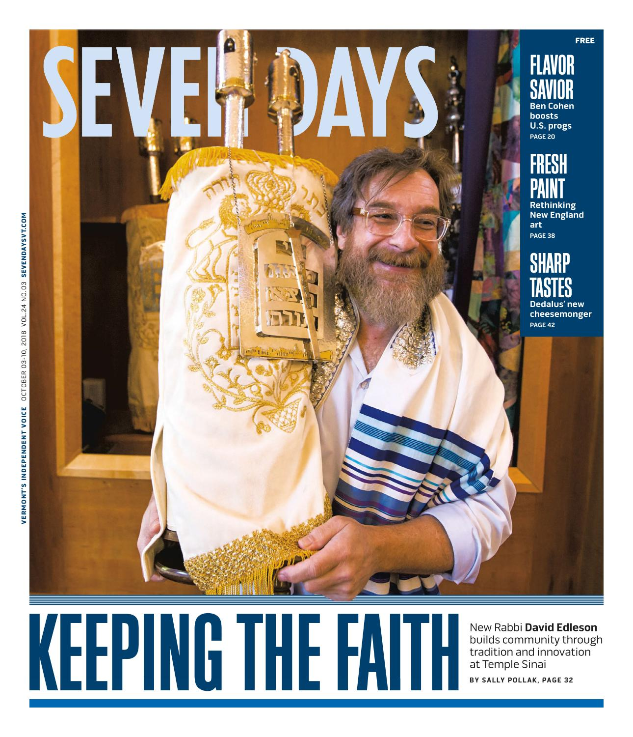 Seven Days, October 3, 2018 by Seven Days - issuu