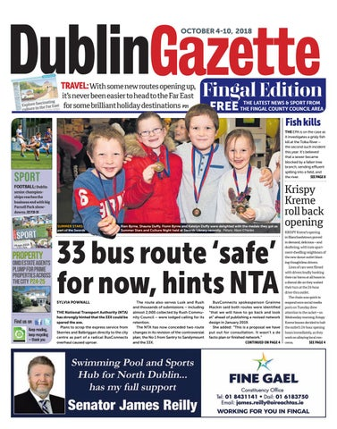 Dublin Gazette  Fingal Edition - October 4th 2018 by Dublin Gazette ... ae8be7c460d