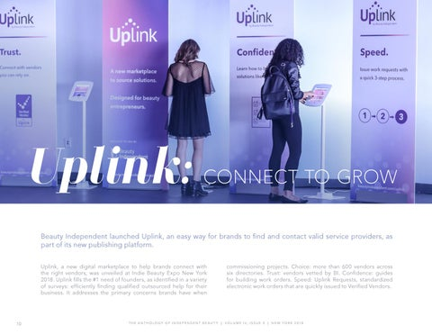 Page 10 of Beauty Independent Launches Uplink