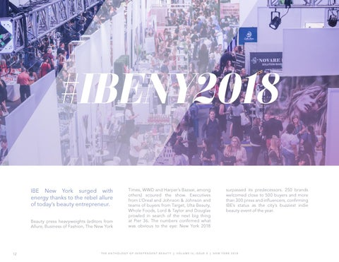 Page 12 of Indie Beauty Expo makes epic return to New York...
