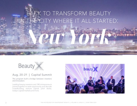 Page 2 of A week of Independent Beauty in New York