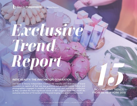 Page 38 of Beauty Independent Exclusive Trend Report