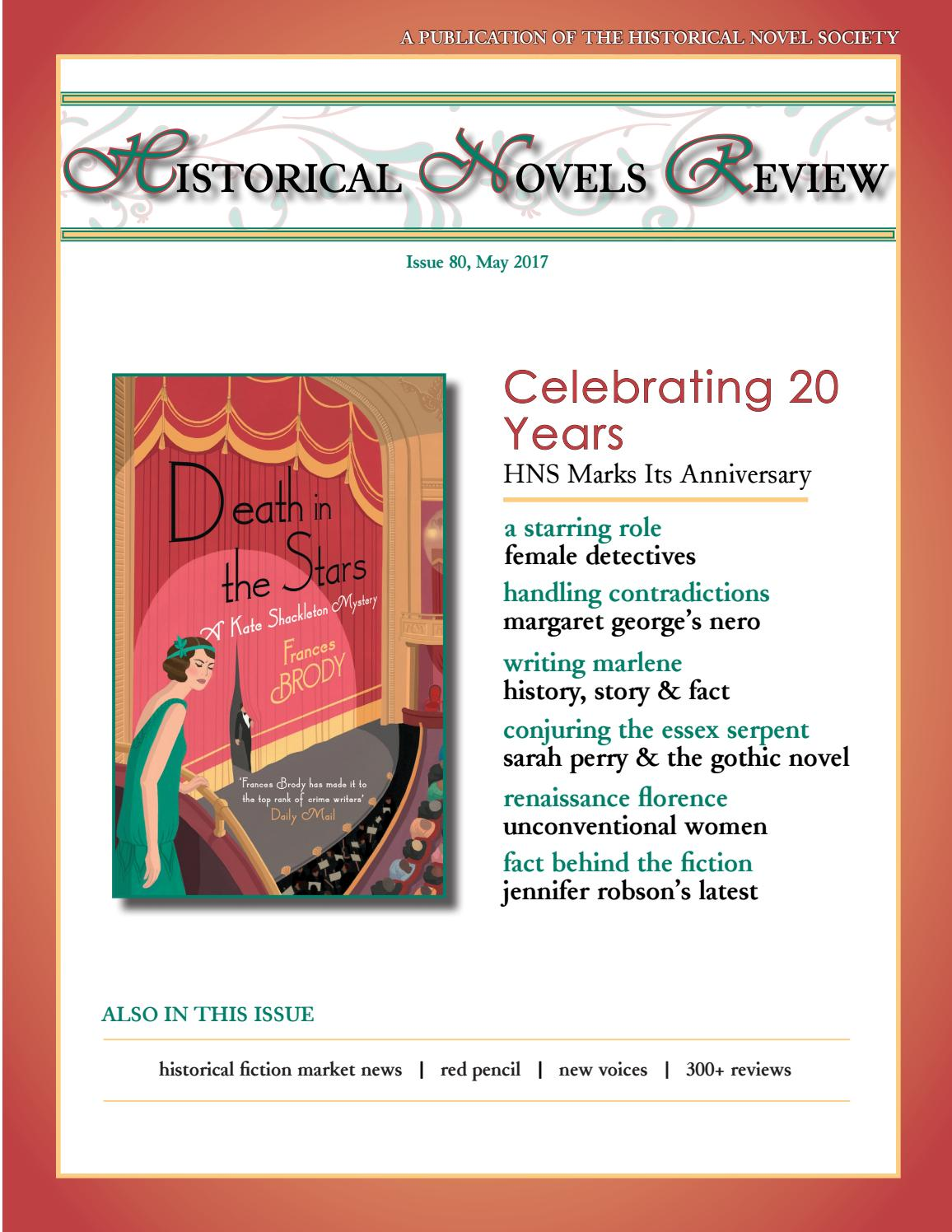 1778ac70c1429 Historical Novels Review