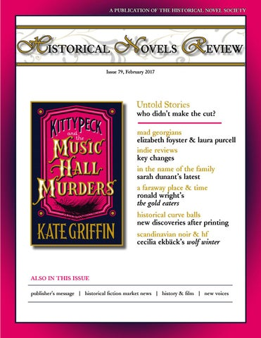 Historical Novels Review, Issue 79 (February 2017) by The