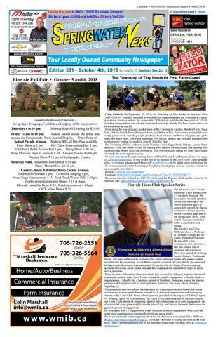 d093dea84ce Springwater News by Springwater News - issuu