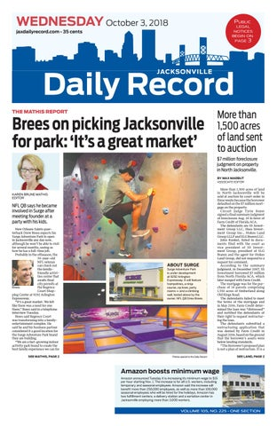 Jacksonville Daily Record 10318 By Daily Record Observer Llc Issuu