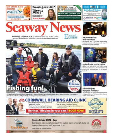 4f06d28eb8 Cornwall Seaway News October 3, 2018 Edition by Cornwall Seaway News ...