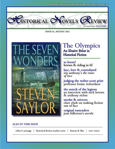 Historical Novels Review, Issue 61 (August 2012)