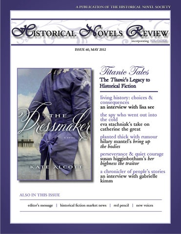 Historical Novels Review Issue 60 May 2012 by The