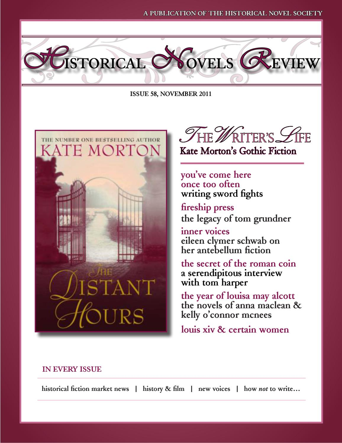 foto de Historical Novels Review, Issue 58 (November 2011) by The ...