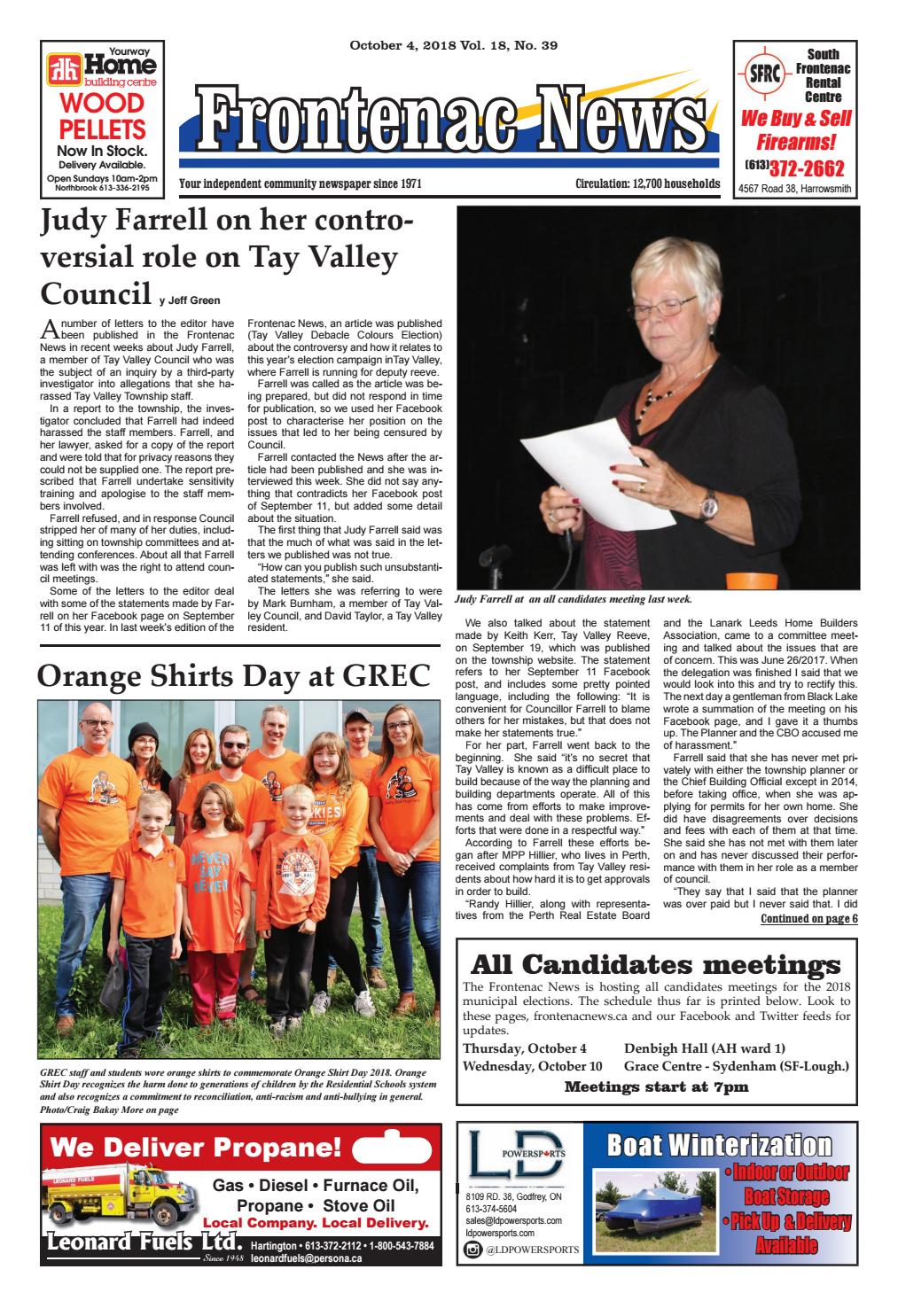 Vol.18 No.39 by Frontenac News - issuu 6bfce65ea576d